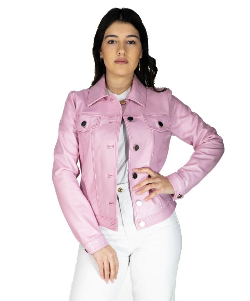 U06 - Men's Genuine soft Green Leather Jacket - 2