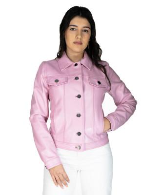 U06 - Men's Genuine soft Green Leather Jacket - 3