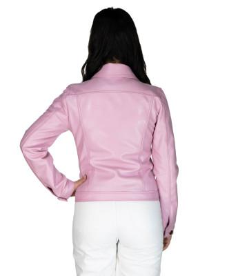 U06 - Men's Genuine soft Green Leather Jacket - 6
