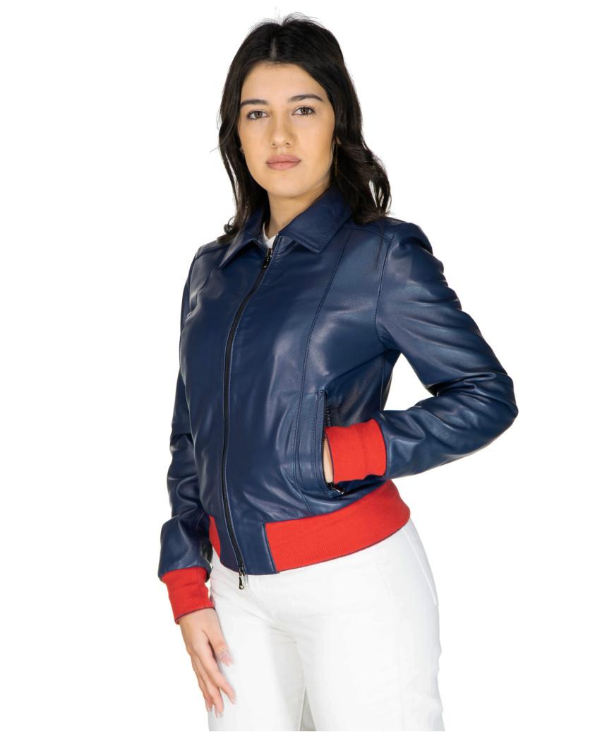 Zara - Giacca Donna in Vera Pelle colore Testa di Moro Oil Vintage - 6