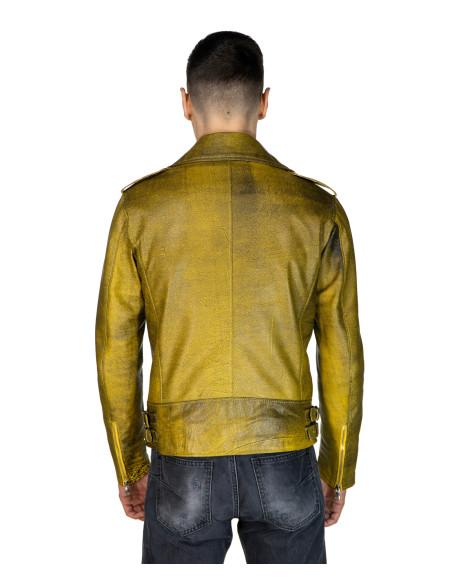 Nebraska - Women Jacket with Hood of Genuine Black Leather - 1