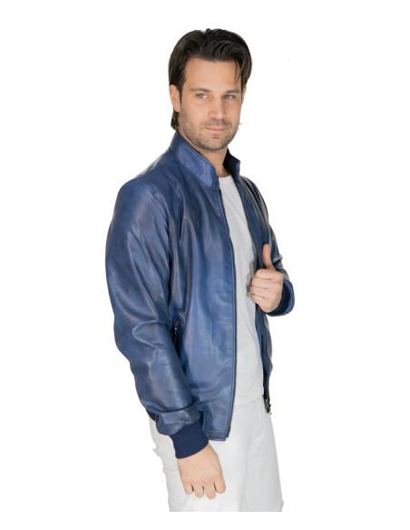 Lasmara - Women Jacket with Hood of Distressed Gray Leather - 1