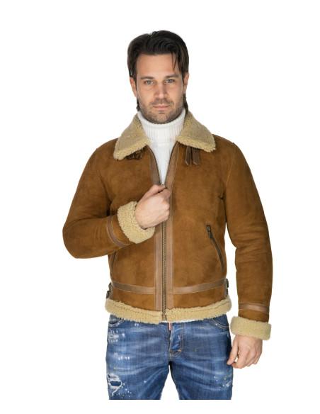 Valentina - Giacca Donna in Vera Pelle colore Rosso Morbida