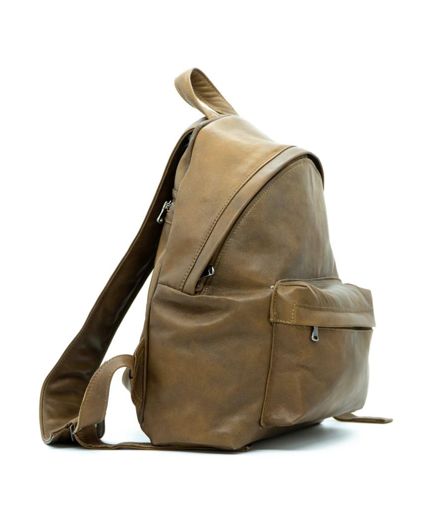 Biker Women - Dark Brown Suede Leather Jacket - 4