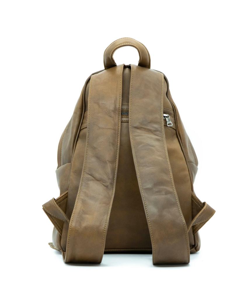 Biker Women - Dark Brown Suede Leather Jacket - 5
