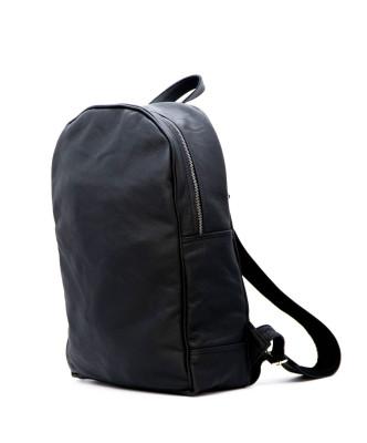 Biker Women - Jacket of Genuine Distressed White Leather - 3