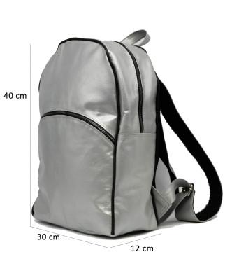 G63 - Giacca Donna in Vera Pelle colore Rosso Tamponato