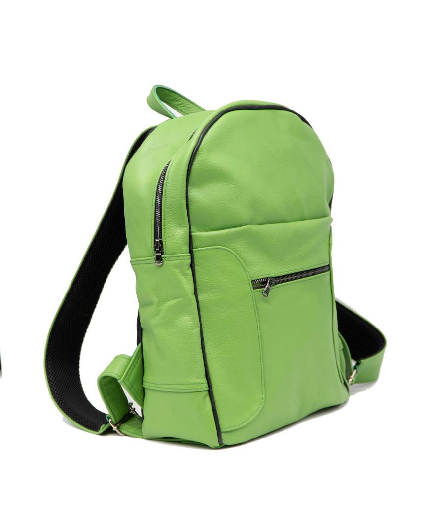 G63 - Women Biker Leather Jacket in soft Distressed White