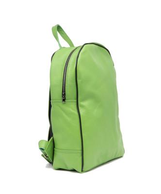 Chiodo Donna - Giacca Borchiata in Vera Pelle con Cintura colore Giallo Oil Vintage