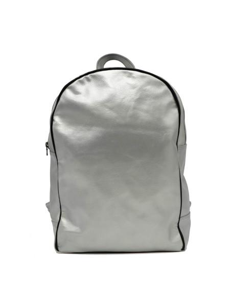 C66 - Giacca Donna in Vera Pelle colore Rosso Tamponato