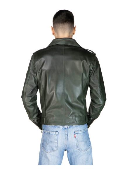 Nolita - Giacca Donna in Vera Pelle colore Rosso Morbida