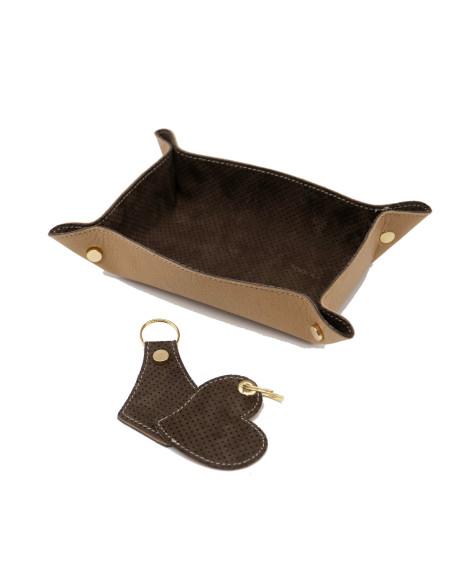 Elena - Women Jacket of Genuine Aged Dark Brown Leather - 2