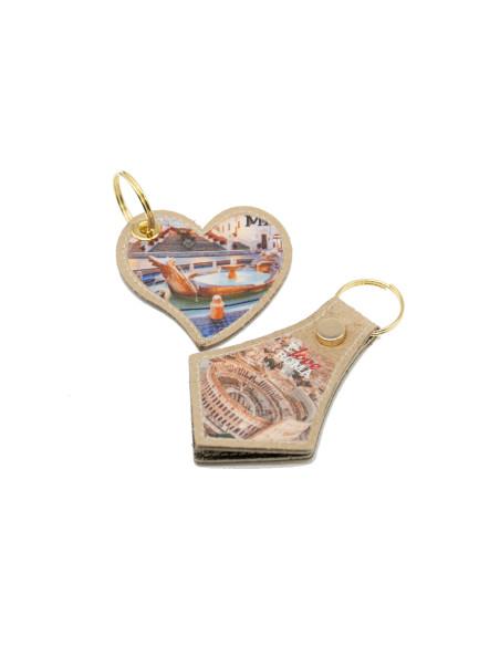 U06 - Men's Jacket of Genuine Mud Oil Vintage Leather - 2