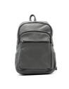 Biker Jacket - Men Genuine Distressed Bordeaux Leather - 2