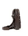 Biker Jacket - Men Genuine Distressed Bordeaux Leather - 8