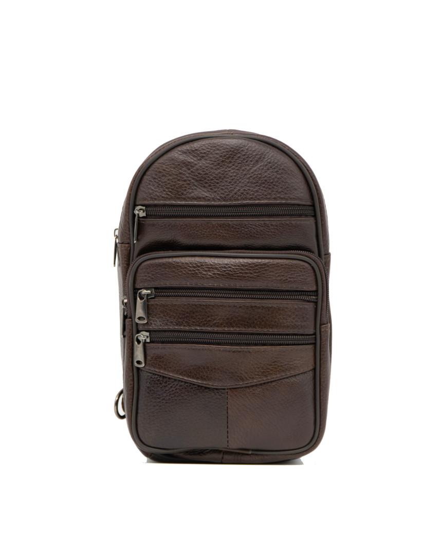 Biker Jacket - Men Genuine Distressed Bordeaux Leather - 9