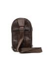 Biker Jacket - Men Genuine Distressed Bordeaux Leather - 10