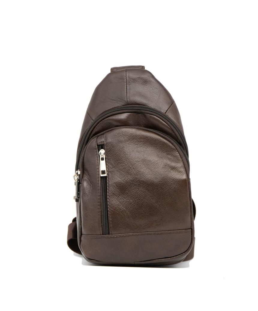 Biker Jacket- Men Distressed White Genuine Leather - 8