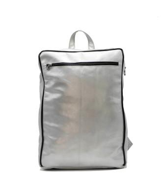 Avatar - Men's Jacket of Genuine Brown Oil Vintage Leather - 2