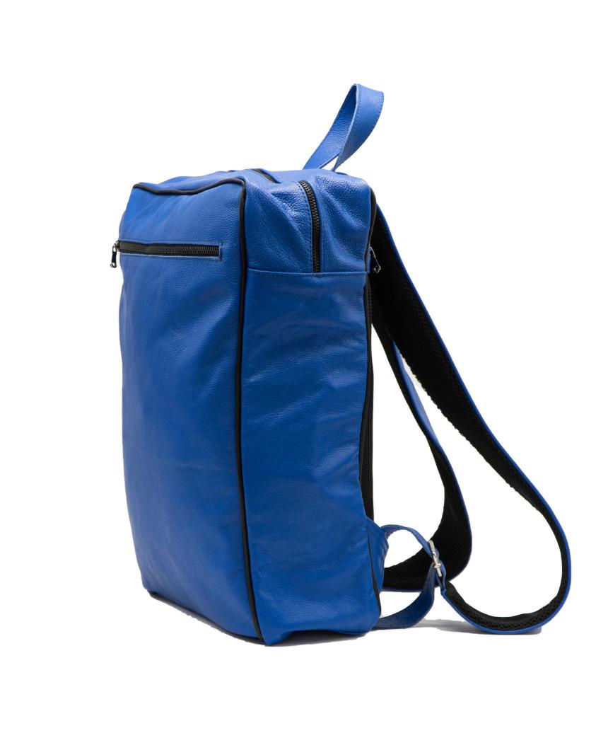 Vanessa - Woman Jacket in Genuine Red Leather Oil Vintage