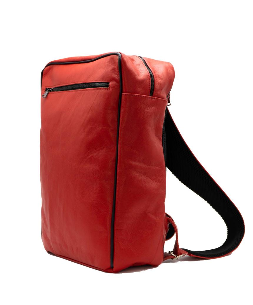 Elena - Women Jacket of Genuine Yellow Oil Vintage Leather - 5
