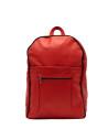Giulia - Women jacket of Genuine Soft Blue Oil Vintage Leather - 4
