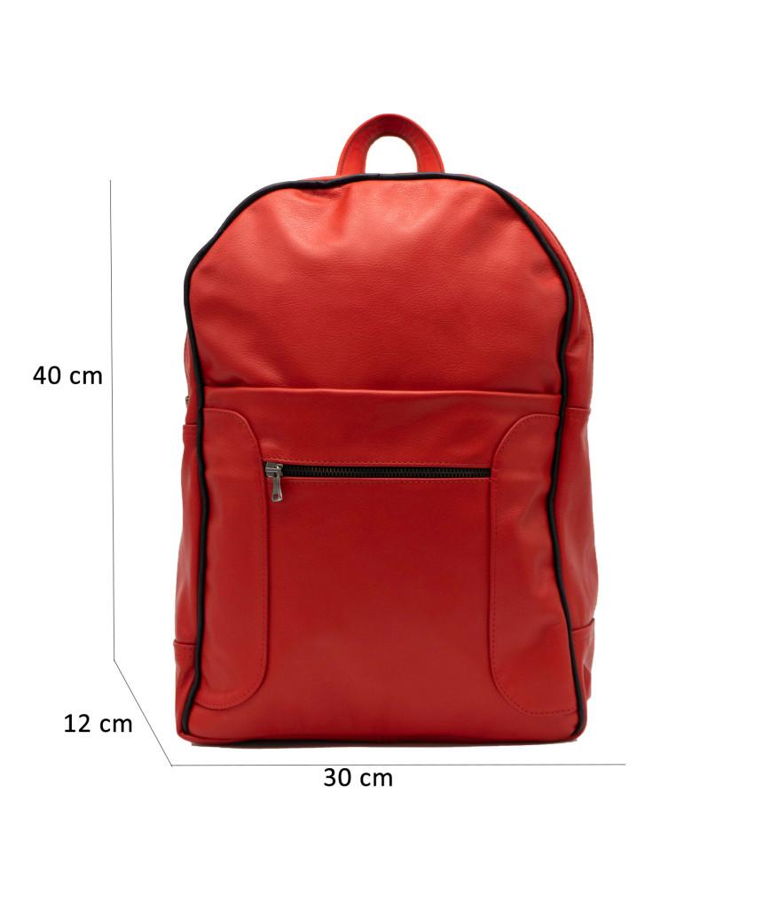Giulia - Women jacket of Genuine Soft Blue Oil Vintage Leather - 6