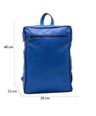 020 - Women Jacket of Genuine Brown Oil Vintage Leather - 5
