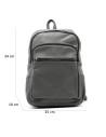 Violetta - Women Jacket of Genuine Soft Brown Leather - 2