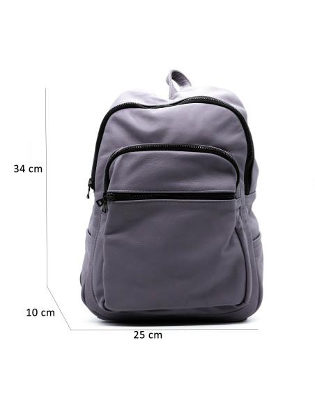 Violetta - Giacca Donna in Vera Pelle colore Marrone Morbida