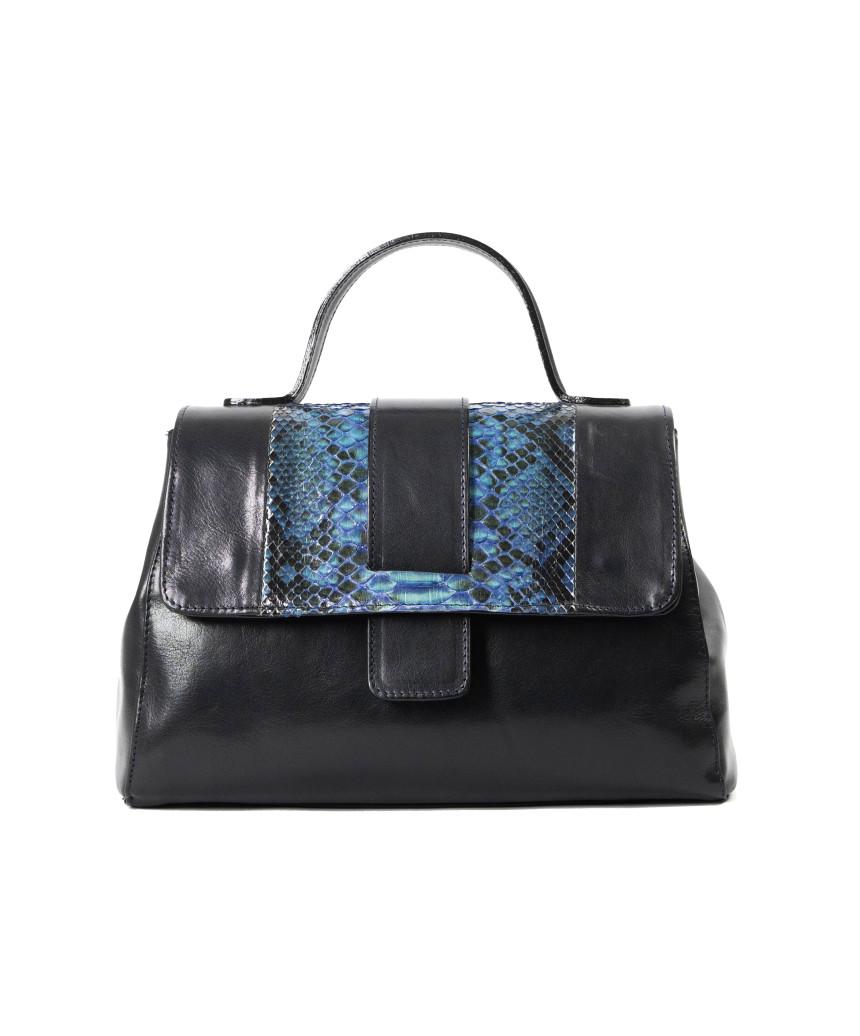 Violetta Bis - Women Jacket in Genuine Aged Brown Leather
