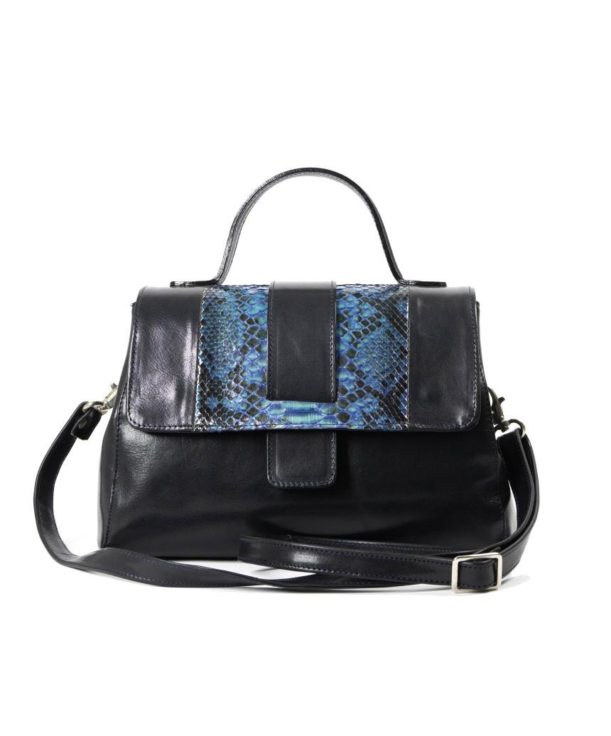 Violetta Bis - Giacca Donna in Vera Pelle colore Marrone Invecchiato