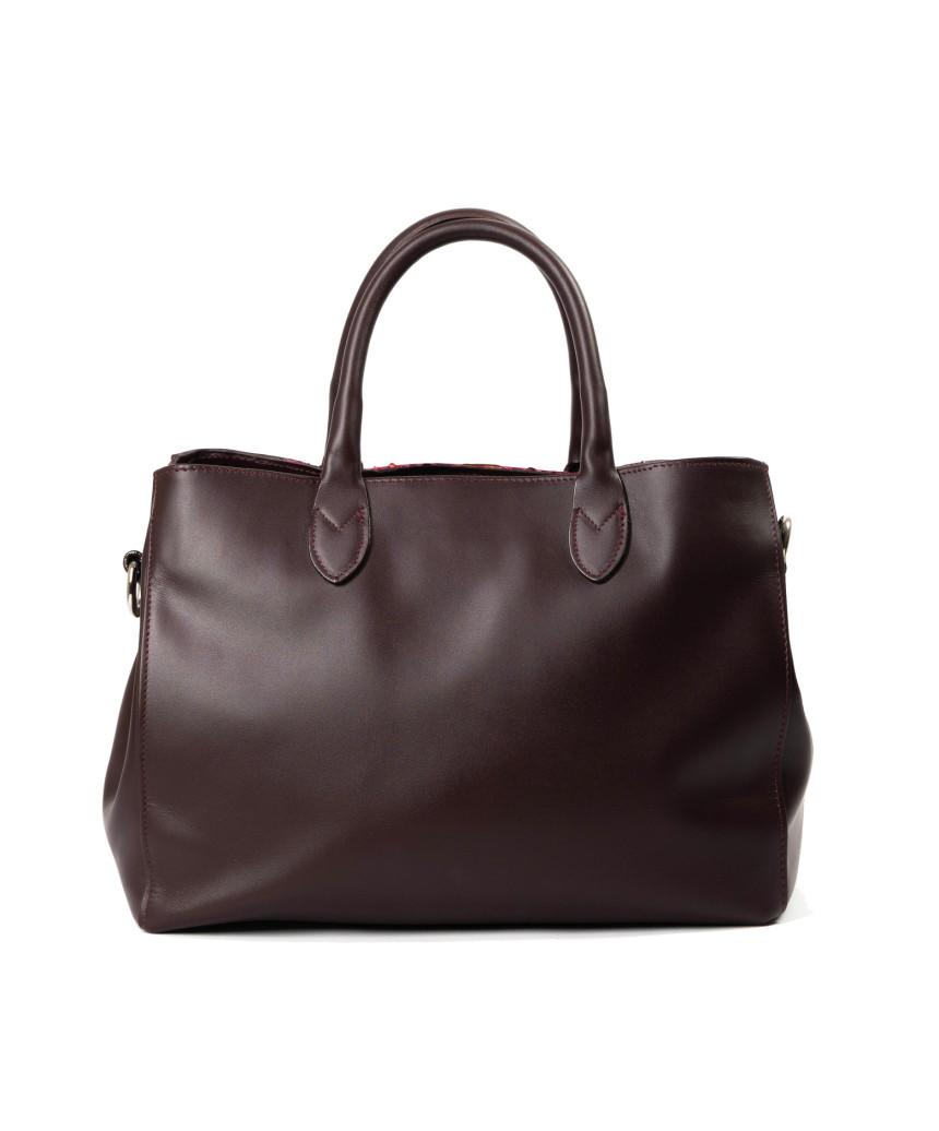 Vanessa - Women Jacket of Genuine Soft Red Leather - 5