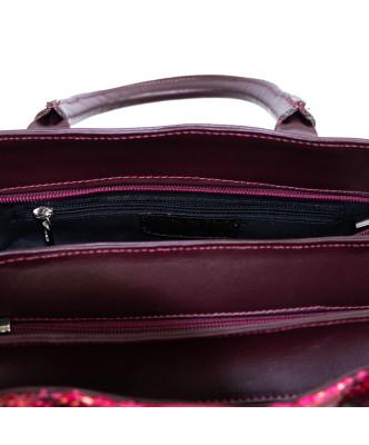 Vanessa - Giacca Donna in Vera Pelle colore Rosso Morbida