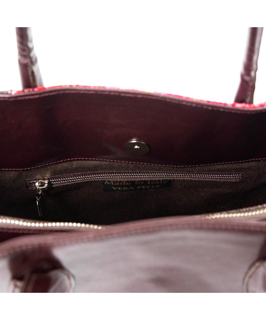 Valentina - Giacca Donna in Vera Pelle colore Nero Morbida