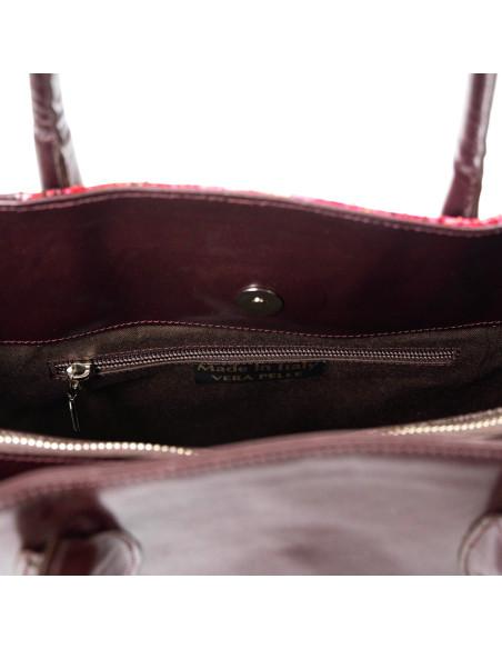 Valentina - Women Jacket of Genuine Soft Black Leather - 1