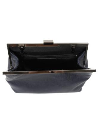 Scialla - Women Jacket of Genuine Soft Black Leather - 1