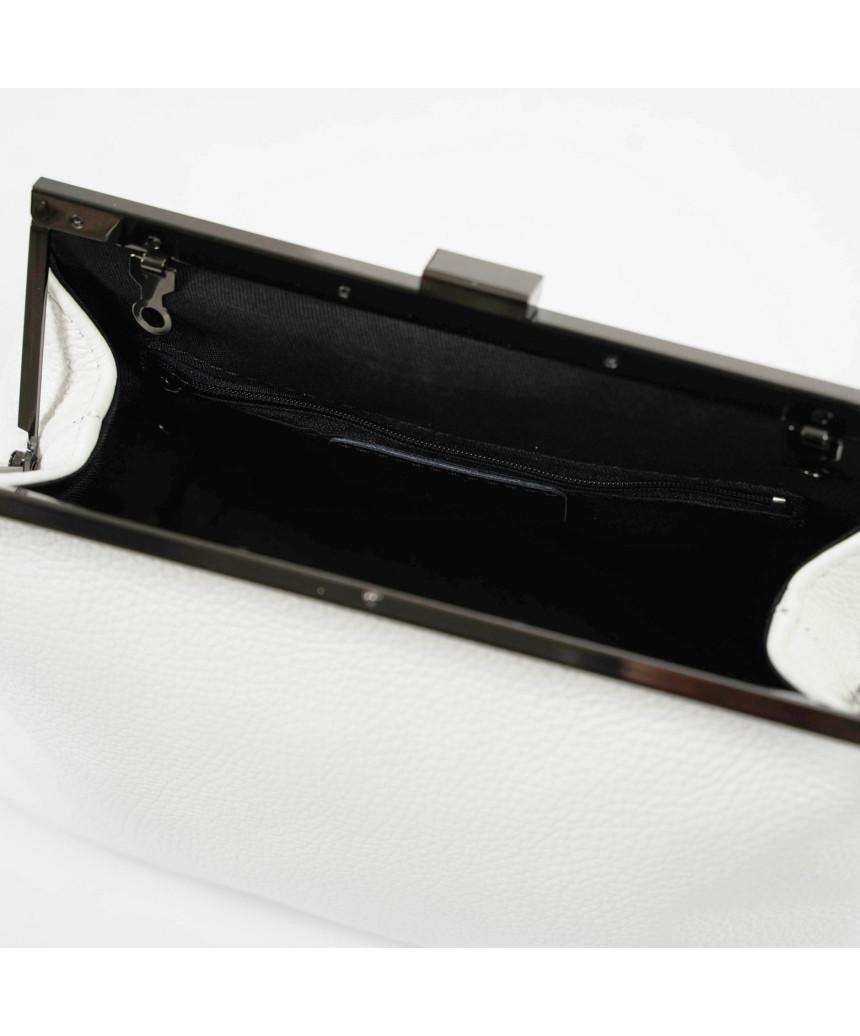 Scialla - Women Jacket of Genuine Soft Black Leather - 5