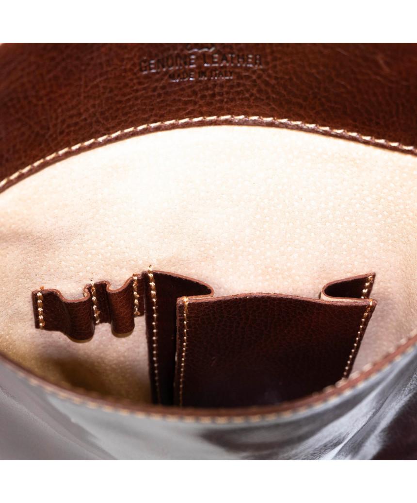 Raff - Giacca Donna in Vera Pelle colore Rosso Morbida
