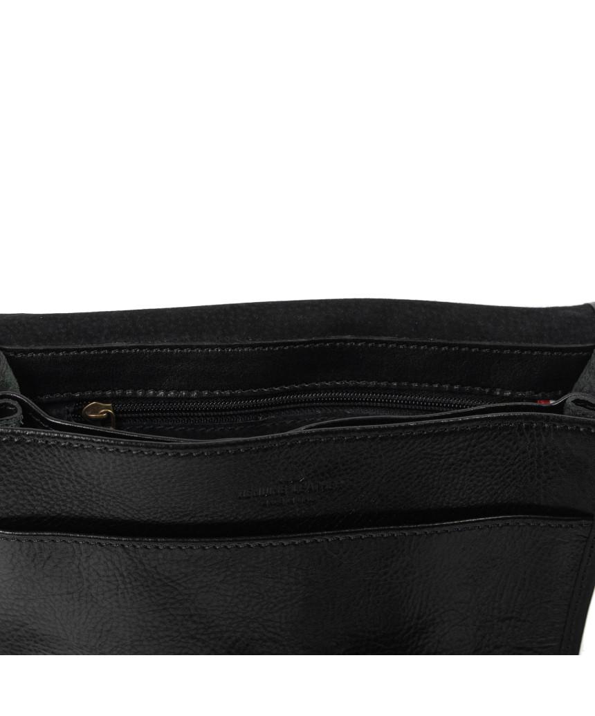 Raff - Women Jacket in Genuine Aged Brown Leather