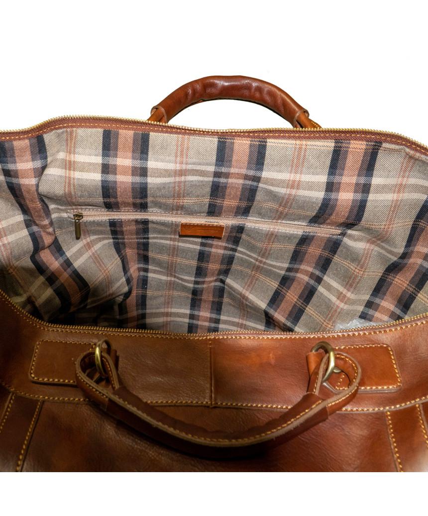 Nolita - Women Jacket in Genuine Aged Brown Leather