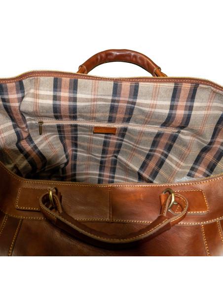 Nolita - Women Jacket of Genuine Aged Brown Leather - 1