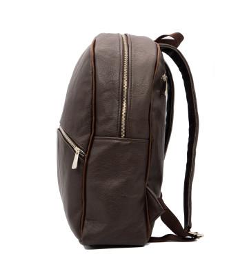 Michelina - Women Jacket of Genuine Soft Yellow Leather - 1