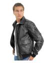 Michelina - Women Jacket of Genuine Soft Yellow Leather - 2