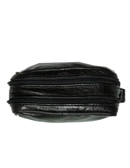 Chiodo Donna - Giacca in Vera Pelle con Cintura colore Rosso Morbida