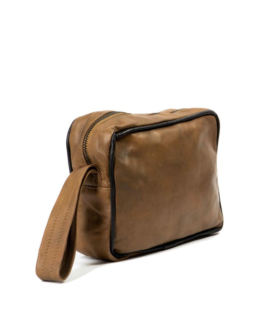 Boler - Giacca Donna in Vera Pelle Traforata colore Giallo Morbida