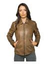 Chiodo Uomo - Men Jacket of Genuine Black Vintage Leather - 2