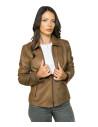 Chiodo Uomo - Men Jacket of Genuine Black Vintage Leather - 4