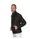 Schott Napoli - Men Jacket of Black Genuine Leather - 1