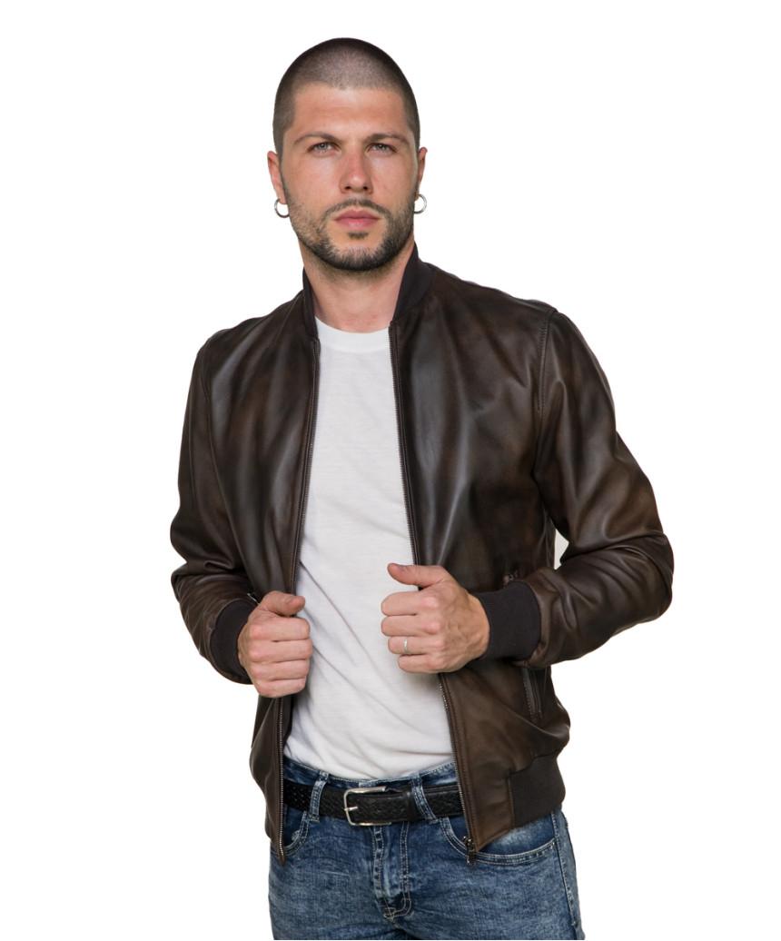 Vale - Giacca Donna in Vera Pelle colore Giallo Morbida